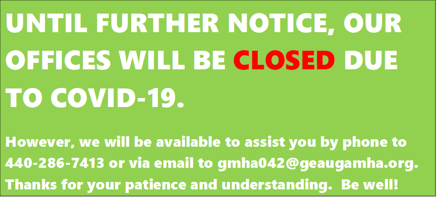 Until further notice our offices will be CLOSED due to COVID-19.